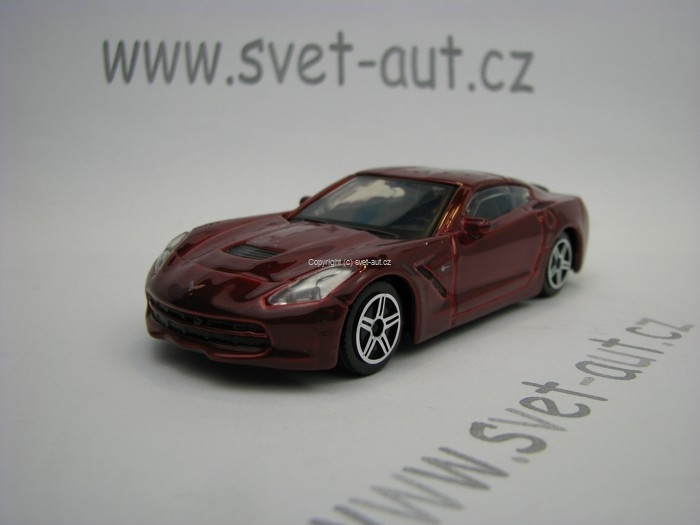 Chevrolet Corvette Stingray 2014 Purple 1:43 Bburago
